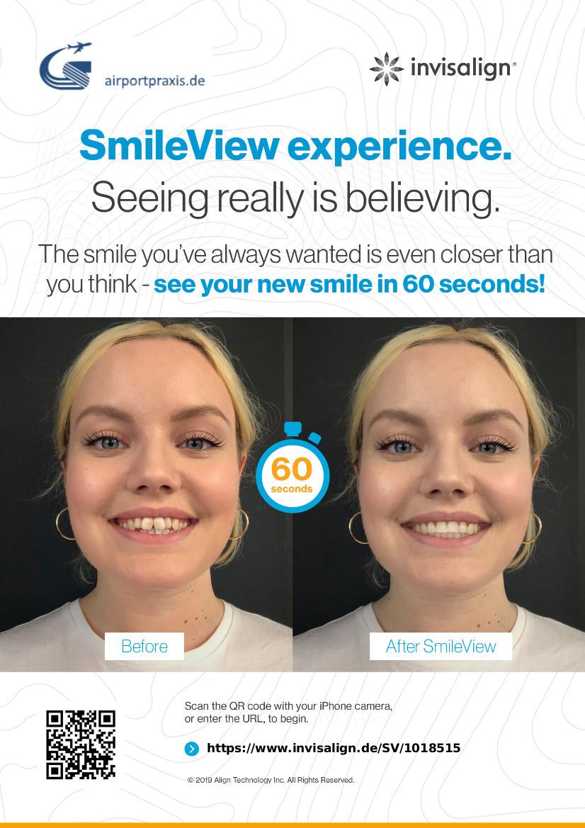 Zahnarztpraxis am Flughafen München – zertifizierter Partner von Invisalign